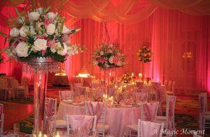 Wedding Reception Setup at Rosen Plaza