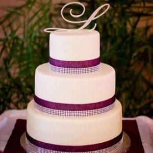 3 Tier Wedding Cake at Rosen Centre
