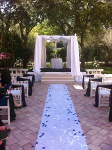 Wedding Aisle at Rosen Centre
