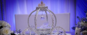 Crystal Carriage sitting on table