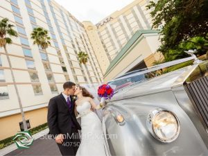 Wedding Couple at Rosen Plaza